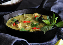 Thajské zelené kari (green curry)