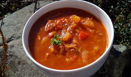Debrecínská polévka se zeleninou