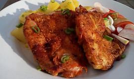 Kořeněná kuřecí stehna na pánev či gril