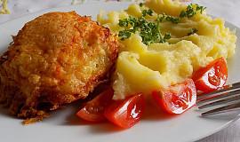 Kuřecí horní stehna ve strouhaném sýru