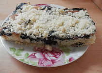 Hrnkový koláč borůvkový  v Jet chef troubě