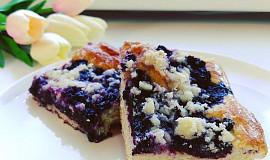 Jihočeský borůvkový koláč