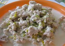 Krůtí mleté maso v kokosové omáčce
