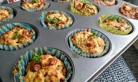 Nádivkové muffiny s olivami