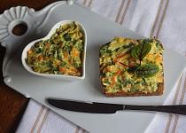 Pomazánka z restované zeleniny s medvědím česnekem