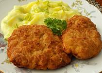 Řízky z mletého masa, sýru a mrkve