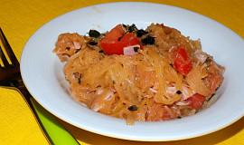 Salát ze špagetové dýně