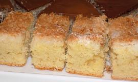 Šťavnatý kokosový koláč