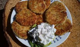 Bramborovo-cuketové placičky se sýrem