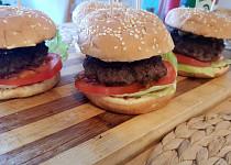 Domácí hamburger od Jirky