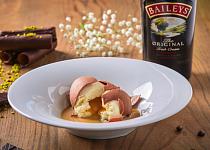Karamelové vejce s mangem a Baileys