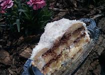 Koka-kokosový nepečený dort