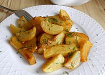 Pečené smetanové brambory