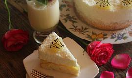 Piňa colada dortík