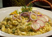 Vajíčkový salát s koprem