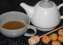 Ořechový čaj na kašel