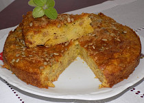 Tykvový koláč se semínky