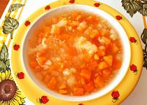 Batátovo-cuketová polévka - pro nejmenší