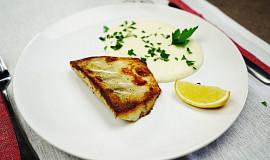 Candát pečený na másle