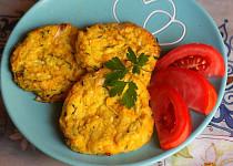 Jáhlovo-zeleninové placičky