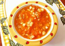 Mrkvová polévka s řapíkatým celerem - pro nejmenší