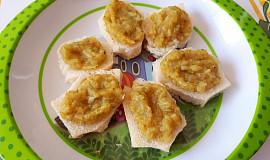 Pomazánka z batátu, cukety a brokolice - pro nejmenší