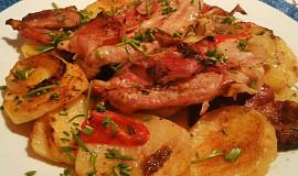 Vepřový pekáček se zeleninou