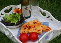 Bochánek vhodný k salátům a letnímu grilování