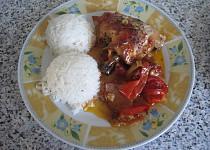 Letní kuřátko s rýží