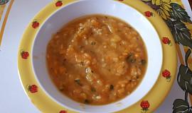 Cuketovo-batátová polévka - pro nejmenší