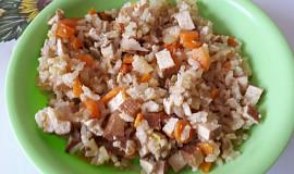 Tofu s mrkví a řapíkatým celerem