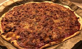 Bezlepková rychlá pizza