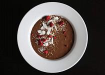 Čokoládová smoothie bowl s ledovou kávou