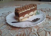 Čokoládové řezy s pařížskou šlehačkou