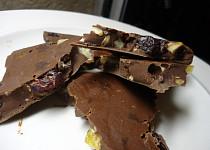 Domácí čokoláda Studentská pečeť