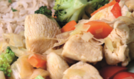 Kuřecí prsíčka s brokolicí