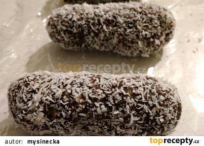 Raw kokosovo-kakaové tyčinky