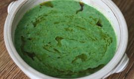 Špenátová RAW polévka