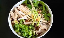 Vietnamská kuřecí (slepičí) polévka-Pho Ga