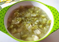 Brokolicovo-cuketová polévka s česnekem - pro nejmenší
