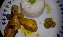 Citrónové grilované kuře na marocký způsob