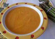 Mrkvová polévka s chřestem - pro nejmenší