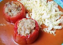 Rajská omáčka s pečenými paprikami a rajčaty