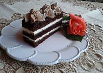 Čokoládové řezy s tvaroho-mascarpone krémem