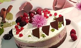 Čokoládovo-malinový sen