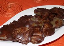 Čokoládové bonbónky z hlívy