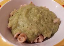 Cuketová omáčka s brokolicí - pro nejmenší