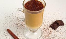 Horký dýňový nápoj s lehkým polibkem orientu