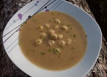 Králičí zapražená polévka - kaldoun