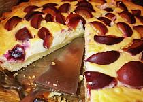 Křehký koláč s blumami